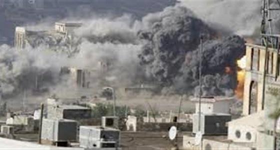 انفجارات عنيفة تهز العاصمة اليمنية جراء غارات متتالية لمقاتلات التحالف