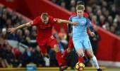 صراع بين ليفربول ومانشستر سيتي حول لقب الدوري الإنجليزي