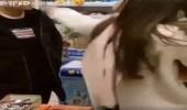 بالفيديو.. رد فعل صادم لشاب صفعته فتاة داخل سوبر ماركت