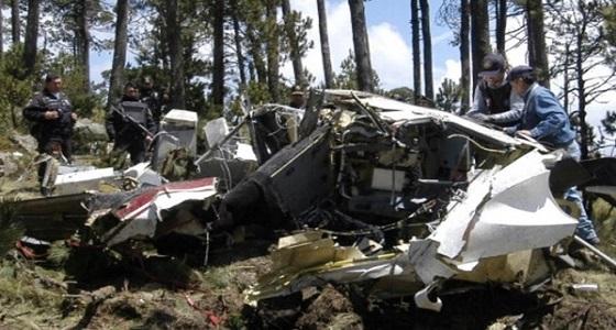 نجاة وزير الداخلية المكسيكي بعد تحطم طائرة هليكوبتر كانت تقله