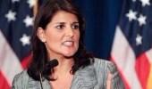 """بالفيديو.. سفيرة أمريكية لـ """" عريقات """" بمجلس الأمن.. لن أخرس"""