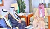 بالصور.. أمير الرياض يستقبل رئيس الجمعية التعاونية للإسكان بالرياض