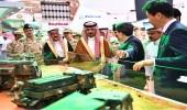 """بالصور.. وزير الحرس الوطني يزور معرض القوات المسلحة لدعم التصنيع المحلي """" أفد 2018 """""""
