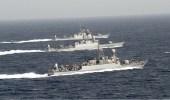 بالصور.. انطلاق مناورات التمرين البحري المشترك بين المملكة وباكستان