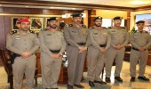 بالصور.. ترقية عدد من ضباط شرطة تبوك