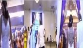 بالفيديو.. عروسان يثيران ضجة عبر مواقع التواصل بوصلة رقص طريفة