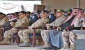 """ملك البحرين يرعى التمرين التعبوي المشترك """" قوة العزم """""""
