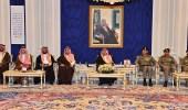 بالصور.. أمير الرياض يستقبل كبار ضباط الدفاع المدني