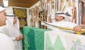 بالصور.. مدير سياحة الباحة يشيد بمتحف قرية الباحة التراثية بالجنادرية