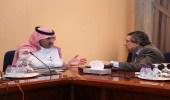 سفير خادم الحرمين الشريفين لدى اليمن يلتقي مساعد الأمين العام للأمم المتحدة