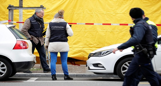 بالصور.. انتشار الشرطة السويسرية في زيوريخ بعد إطلاق النار