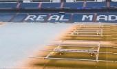بالفيديو.. زيدان يعلق التدريب أثر تغطية الثلوج لملعب البرنابيو