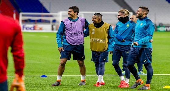 """بالصور.. """" الدوسري """" يستعد للمشاركة في الدوري الأوروبي"""