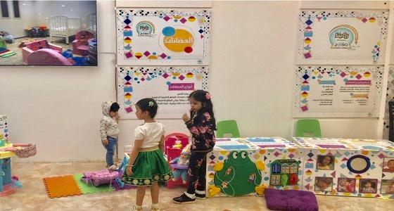 الأطفال يشاركون في حضانة جناح التعليم بالجنادرية
