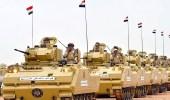 الجيش المصري ينفي شن إسرائيل غارت جوية بشمال سيناء