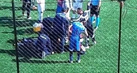 وفاة لاعب جزائري على أرض الملعب