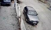 بالفيديو.. رجل يدهس ابن شقيقه بالسيارة