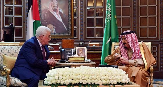 عباس: المملكة تقف إلى جانب قضيتنا وشعبنا على مر التاريخ