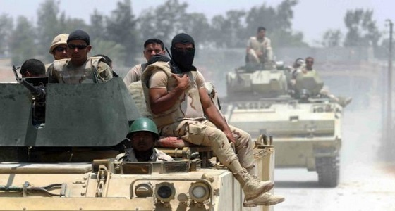 عسكري مصري: تم ضبط أسلحة قطرية مع الإرهابيين في سيناء