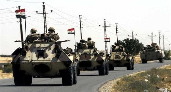 الجيش المصري يقضي على 7 مسلحين في عملية سيناء 2018