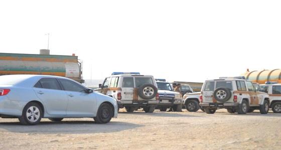 سحب 183 صهريجا للصرف الصحي قرب مطار الملك عبدالعزيز الجديد بجدة