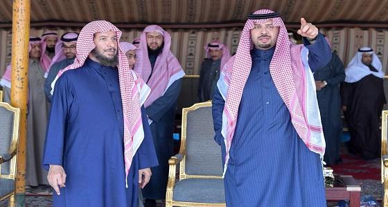 الأمير فيصل بن خالد بن سلطان يقيم مأدبة غداء تكريما لمعالي الدكتور الشثري