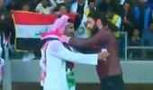 بالفيديو.. ترحيب مفعم بالحب من العراقيين بالمنتخب السعودي