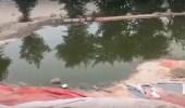 بالفيديو..فاعل خير ينشيء بحيرة ويضع الطعام للطيور المهاجرة في الصحراء