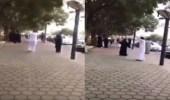 العقوبة المتوقعة لراقص وراقصة شارع الفن بأبها