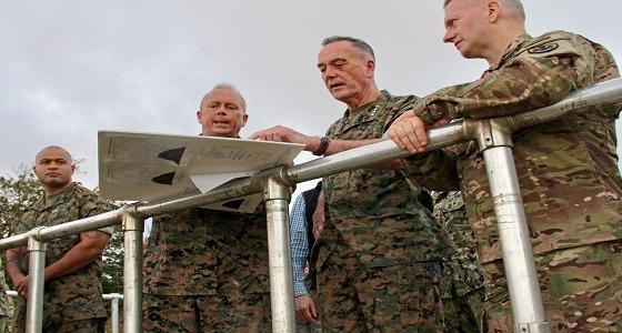 استعدادات عسكرية فى جزيرة جوام الأمريكية