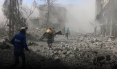 قصف جوي مكثف على الغوطة الشرقية