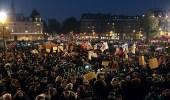 احتجاجات حاشدة في باريس ضد مشروع قانون الهجرة الجديد
