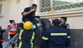 انقاذ عاملين سقطوا في خزان مياه بالطائف