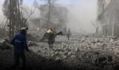 الدفاع المدني بسوريا: مصابين الغوطة الشرقية ما زالوا تحت الأنقاض