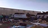 رفع 369 بسطة مخالفة في سوق الحراج بالدمام