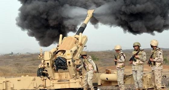 التصدي لهجوما حوثيا قبالة نجران