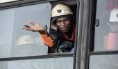 """احتجاز عمال """" تحت الأرض """" في جنوب أفريقيا"""