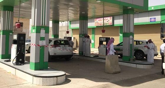 """إغلاق 15 محطة وقود بطريق الرياض في """" الطائف """""""
