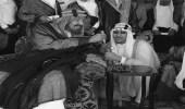 الخطوط الحديدية بالجنادرية تعرض صور نادرة للملك المؤسس والملك سعود والملك فيصل