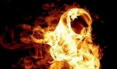 فتاة تشعل النيران بمنزل الزوجية عقب اكتشاف خيانة زوجها