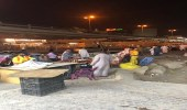 بالصور .. ضبط 28 عاملا مخالفا بأحياء وسط الرياض