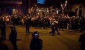 احتجاجات في برشلونة على زيارة ملك أسبانيا للمدينة