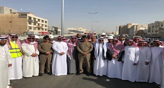 افتتاح مشروع جسر تقاطع الملك عبدالعزيز مع الشارع العاشر في الخبر