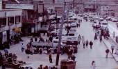 """صورة نادرة لموقف عمال """" البطحاء """" في الرياض عام 1978م"""