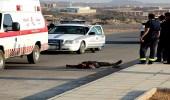 دهس شخص بعد عبوره طريق غير مخصص للمشاة في جدة