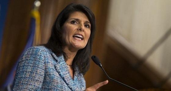 هيلي: حان الوقت ليتحرك مجلس الأمن ضد إيران