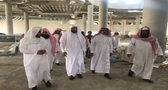 الناصر يتفقد إدارة المساجد والمكتب التعاوني وجمعية تحفيظ القرآن الكريم بالحريق