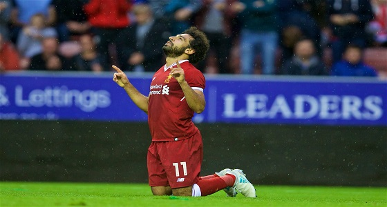"""ليفربول يرفع راتب """" صلاح """" لحمايته"""