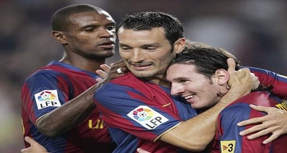 """برشلونة يحتفل بميلاد """" زامبروتا """" بطريقته الخاصة"""