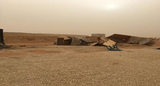 """"""" أمانة الرياض """" تزيل التعديات القائمة بشرق المدينة"""